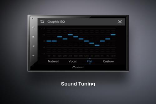 Sound tuning