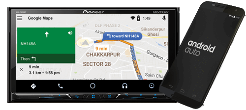 pioneer india avh z5090bt power up your car with all the latest features like apple carplay. Black Bedroom Furniture Sets. Home Design Ideas