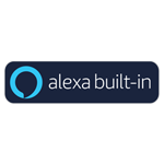 Amazon Alexa built-in