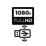 Compatible with Full HD Video codec from USB device