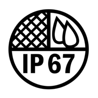 Rated IP67