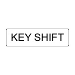 Key shift