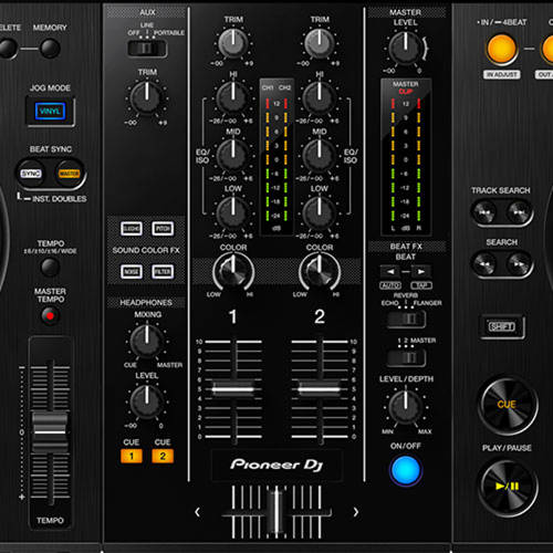 Mixer with Pro Features