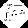 MP3/WMA/AAC