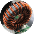 Power supply choke coil Power