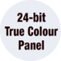 24-bit True Colour Panel