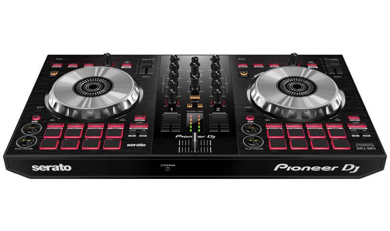 Pioneer India - DDJ-SB3   2-channel DJ controller for Serato DJ Lite