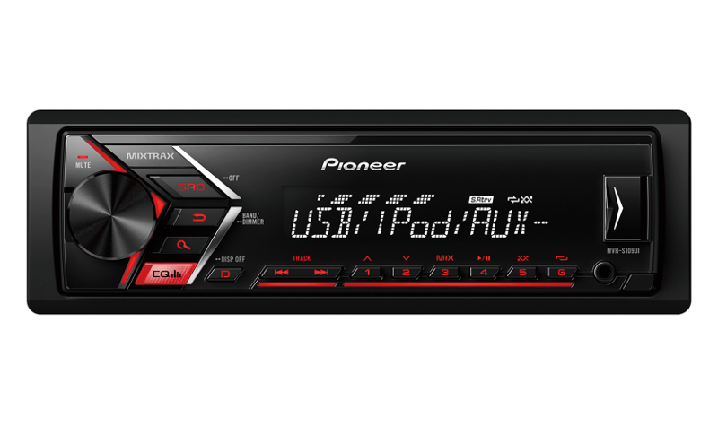 pioneer india mvh s109ui enjoy music playbility in your car