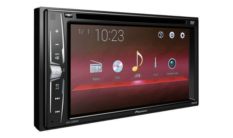 Pioneer India - AVH-A109DVD | Now personalize the rhythm with