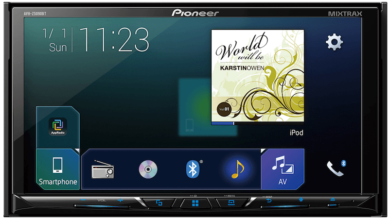 Pioneer India Avh Z5090bt Power Up Your Car With All The Latest