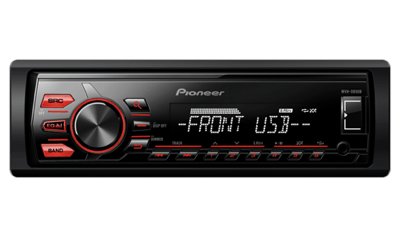 Pioneer car audio with bluetooth and usb india 17