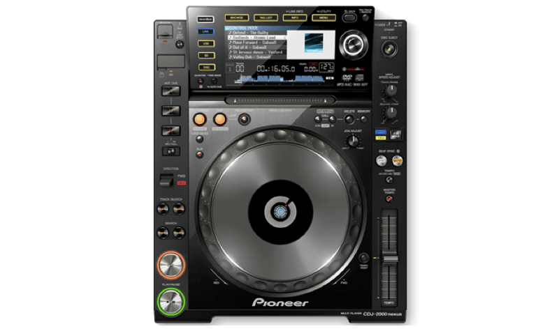 Pioneer India - CDJ-2000NXS   Pro Grade Digital DJ Deck