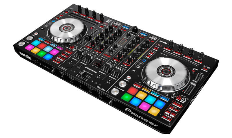 pioneer india ddj sx2 4 channel serato dj controller with performance pads. Black Bedroom Furniture Sets. Home Design Ideas